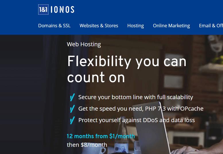 استضافة 1&1 IONOS