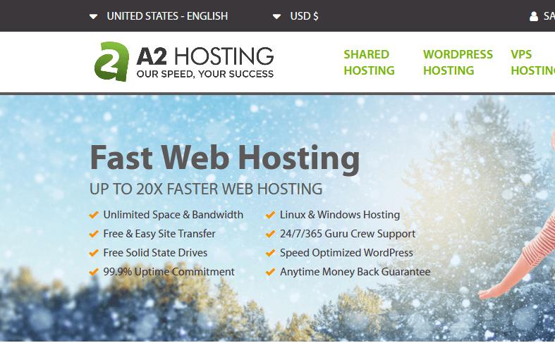 استضافة رخصية A2 Hosting