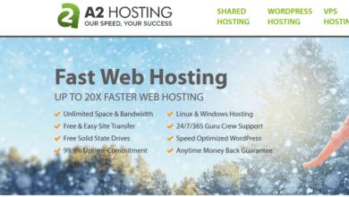 استضافة ايه تو هوستنج (a2hosting)