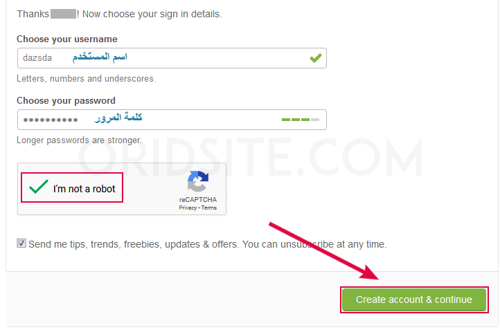 انشاء حساب في ThemeForest لشراء قالب Sahifa