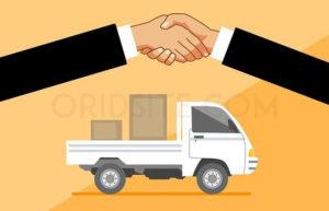 """التواصل مع شركة شحن توفر خدمة الدفع عند الإستلام و إنشاء """"عقد"""" معها"""