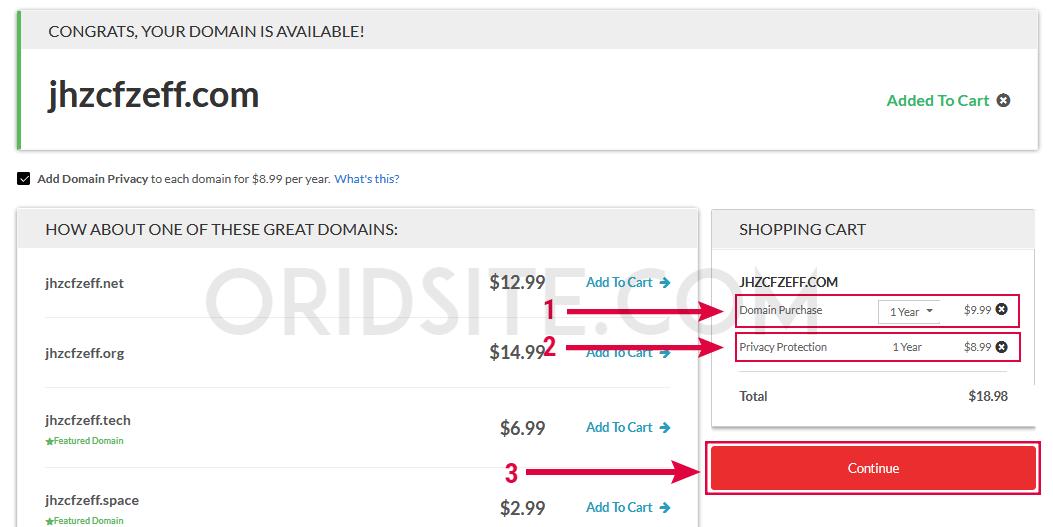 حجز أرخص دومين مدفوع من شركة Domain