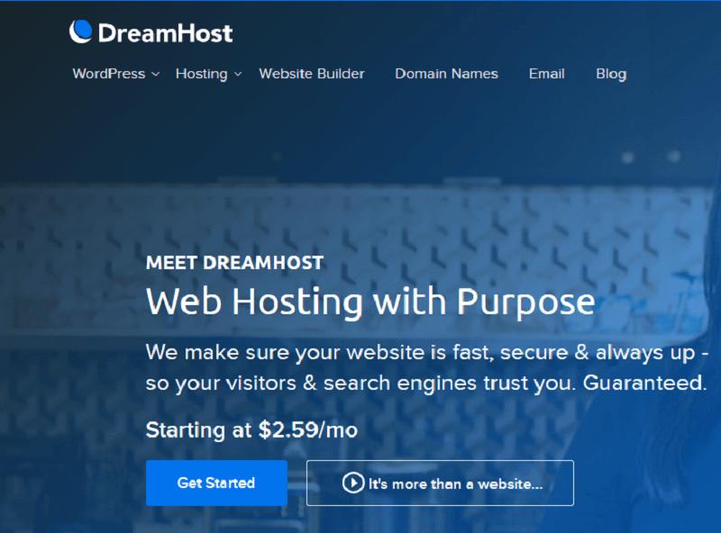 استضافة DreamHost - افضل استضافة ووردبريس