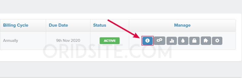 طريقة عمل موقع ويب - إظهار معلومات DNS الخاصة بإستضافة