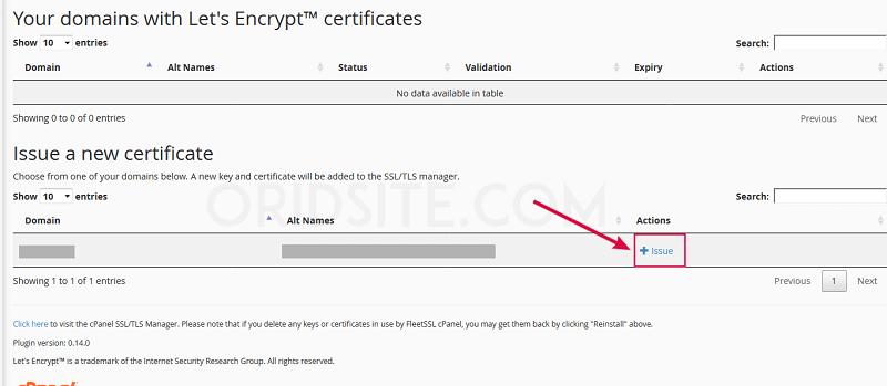 تثبيت SSL على استضافة FastComet