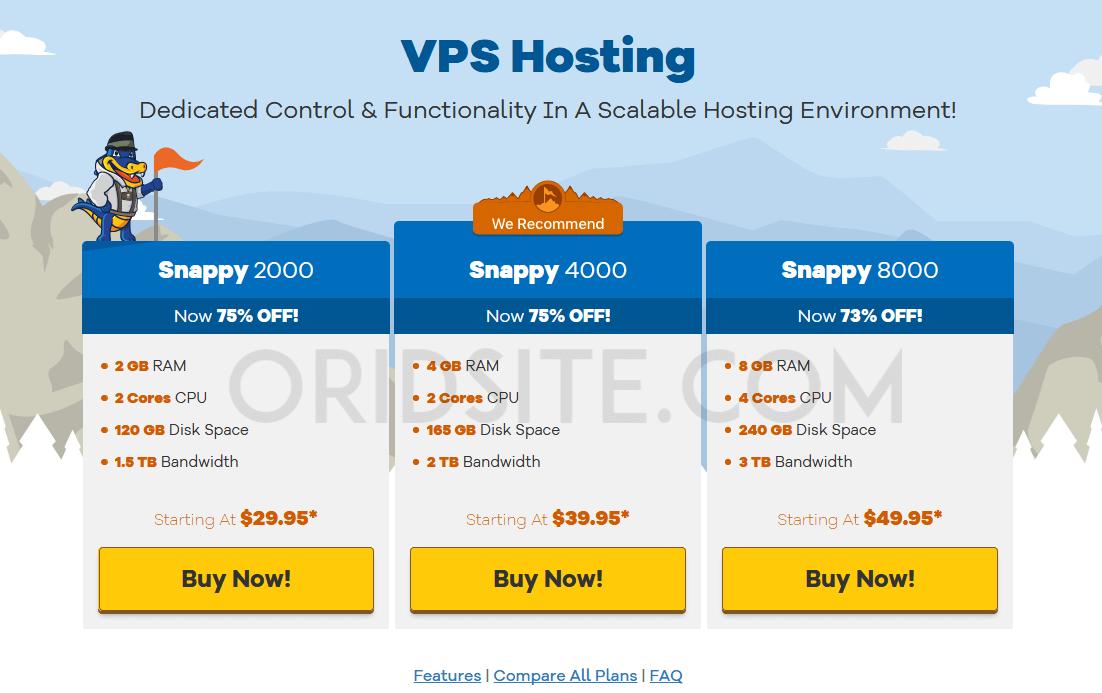 استضافة VPS الخاصة باستضافة هوست جيتور
