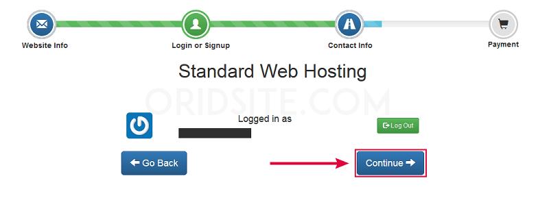 انشاء حساب في استضافة InterServer-انشاء موقع ويب خاص بي