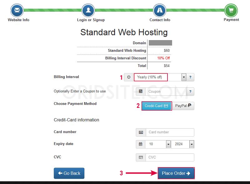 حجز استضافة InterServer-كيفية انشاء موقع ويب خاص بك