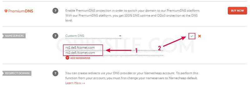 ربط دومين namecheap مع استضافة fastcomet - انشاء مدونة الكترونية