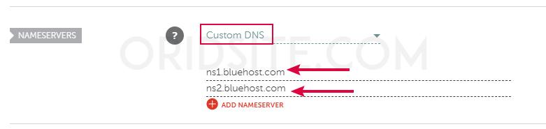 ربط استضافة بلوهوست بدومين من نيم شيب بواسطة DNS