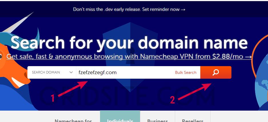 كيفية حجز أرخص دومين من شركة Namecheap