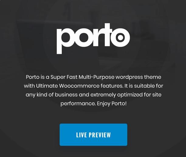 قالب Porto