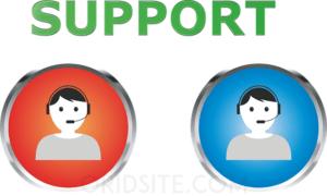 توفير الدعم و الإجابة على استفسارات الزبائن