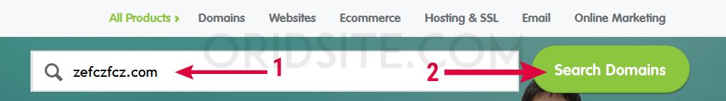 طريقة شراء دومين من موقع Register