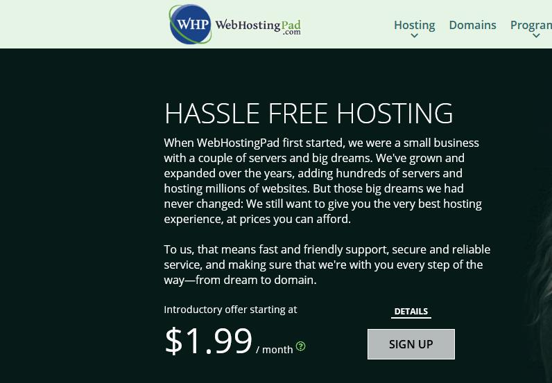 استضافة WebHostingPad